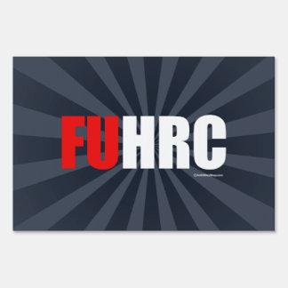F U H R C - Anti Hillarypng white -.png Sign