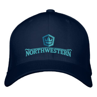 F V Northwestern Hat Embroidered Hats