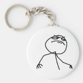 F Yea Guy Keychain