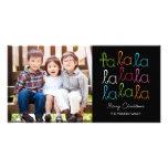 Fa La La Holiday Photo Card Photo Cards