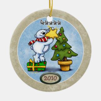 Fa la la la Christmas Ornament