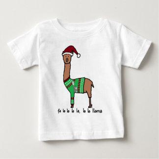 fa la la la la la la la llama baby T-Shirt