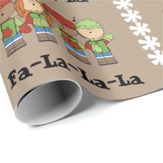 Fa-La-La-La Wrapping Paper