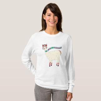 Fa La Llama La Christmas design T-Shirt