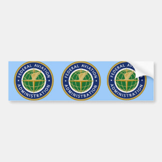 FAA air admin Bumper Sticker