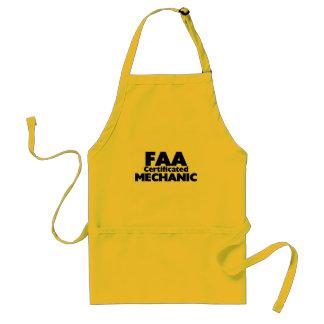 FAA Certificated Mechanic Standard Apron