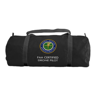 FAA CERTIFIED DRONE PILOT DUFFEL BAG