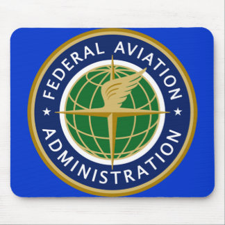 FAA federal aviation administration Mouse Pad