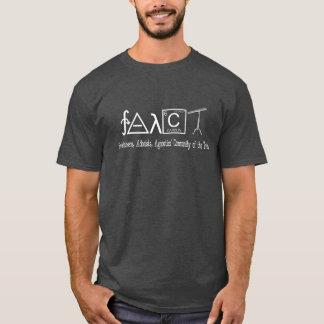 FAACT Atheist group shirt (Dark) Men's and Women's