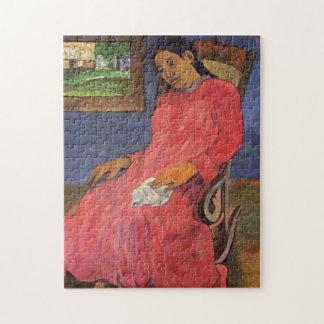 'Faaturuma (Melancholy)' - Paul Gauguin Jigsaw Puzzle