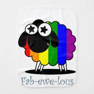 Fab-ewe-lous Burp Cloth