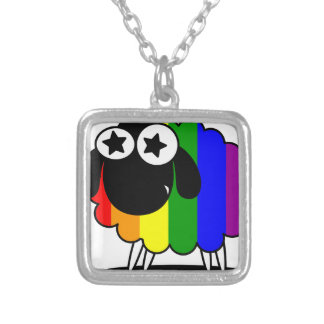 Fab-ewe-lous Silver Plated Necklace