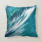 Fab Wave Decor Pillow; Many sizes by Margaret Juul Throw Pillow