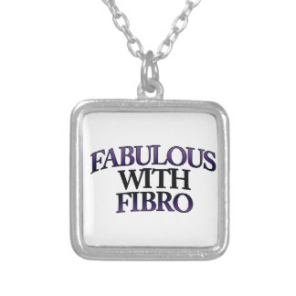 Fab with Fibro Square Necklace
