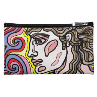 Fabel Sueded Cosmetic Bag