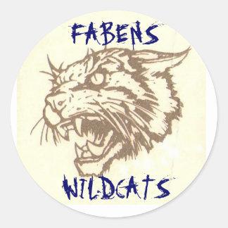 FABENS WILDCATS STICKER