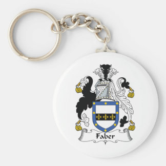 Faber Family Crest Keychain