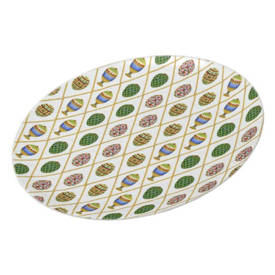 Faberge Eggs Plate