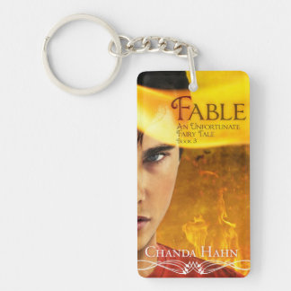 Fable Book Cover Key Chain