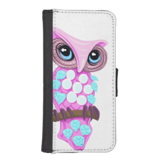 Fable Owl iPhone SE/5/5s Wallet Case