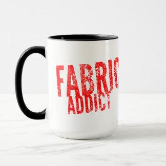 Fabric Addict Funny Mug