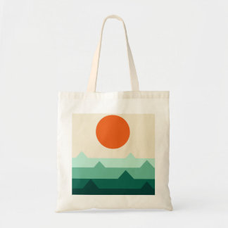 Fabric bag with illustration