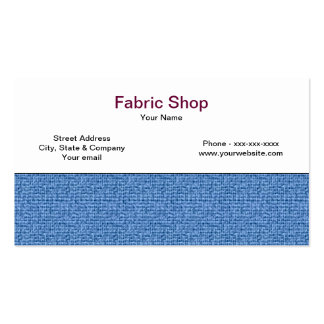 Fabric Business Card