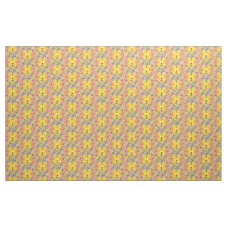 Fabric Cotton Twill peach yellow