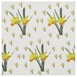 Fabric - Daffodil Blossoms