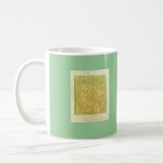 fabric icon art classic white coffee mug