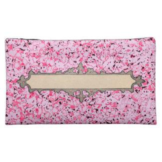 Fabric-Marker-Label-Cosmetic-Travel-Bag-Set_Pink Makeup Bag
