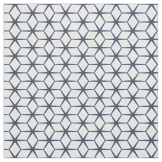 Fabric: Moroccan Star Blue & White Fabric