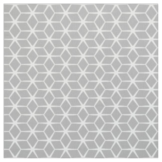 Fabric: Moroccan Star Grey & White Fabric