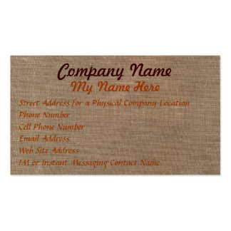 FABRIC PAPYRUS Business Cards