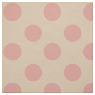 Fabric: Pink & light pink polka dots Fabric