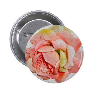 Fabric Roses Coordinating Items 2 Inch Round Button