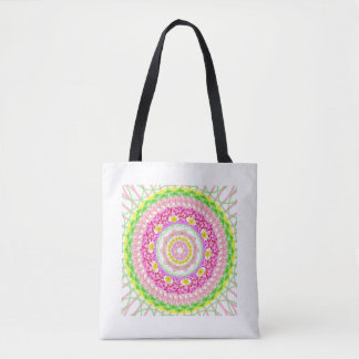 Fabric stock market with sends it floral tote bag
