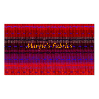 Fabric Store Business Card