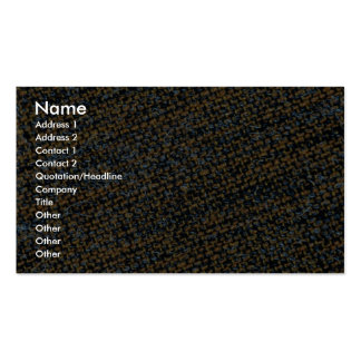 Fabric texture business card templates
