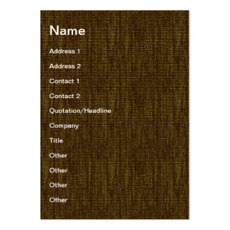 Fabric texture business card