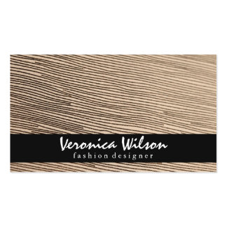 Fabric with Line Threading 2 Business Card