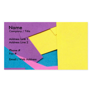 FABRICS PACK OF STANDARD BUSINESS CARDS