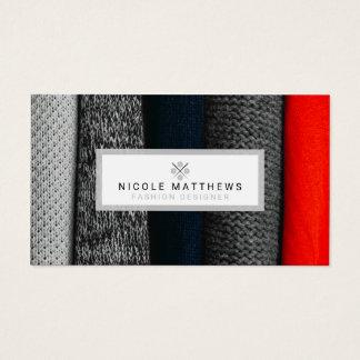Fabrics Fashion Designer Business Card