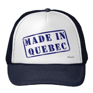 Fabriqué au Québec Casquettes De Camionneur