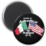 Fabriqué en Amérique avec les pièces italiennes Aimant