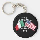 Fabriqué en Amérique avec les pièces italiennes Porte-clé