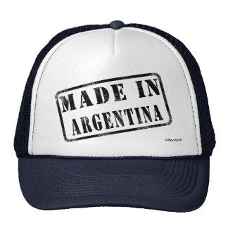 Fabriqué en Argentine Casquettes De Camionneur