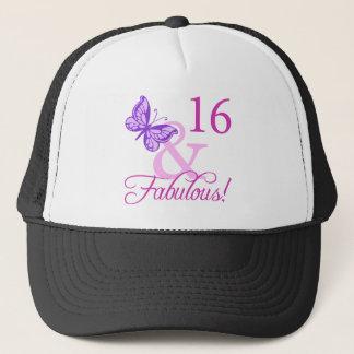 Fabulous 16th Birthday Trucker Hat