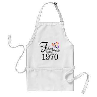 FABULOUS 1970 ADULT APRON