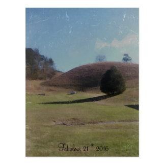 Fabulous 21 * 2016 postcard